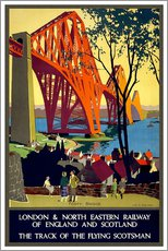 Wall sticker  Forth Bridge London Railway - Travel Collection