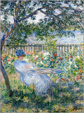 Wall sticker  La Terrasse (The Terrace) - Claude Monet