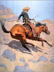 Wall sticker  The Cowboy - Frederic Remington