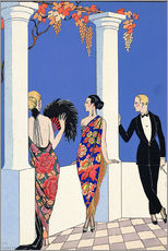 Gallery print  The taste of the scarf, 1922 - Georges Barbier