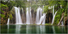 Wall sticker  Paradise like waterfall in plitvice - Andreas Wonisch