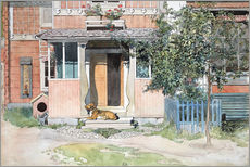 Carl Larsson - The Verandah
