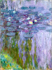 Gallery print  Waterlilies - Claude Monet