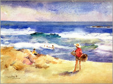 Gallery print  Boy on the Sand - Joaquin Sorolla y Bastida