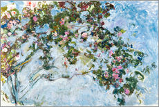Wall sticker  The roses - Claude Monet