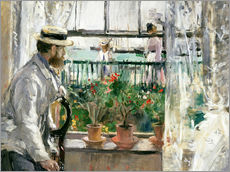 Wall sticker  Manet on the Isle of Wight - Berthe Morisot