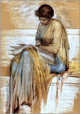 Wall sticker  Female Figure Study - Albert Joseph Moore