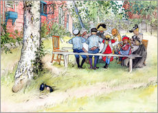 Carl Larsson - Breakfast under the Big Birch