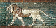 Wall Stickers  Lion mosaic at the temple of Babylon