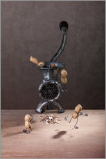 Gallery print  Simple Things - Meat Grinder - Nailia Schwarz