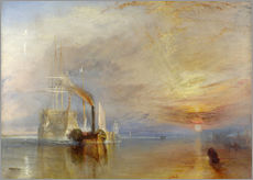 Wall sticker  The fighting Temeraire - Joseph Mallord William Turner