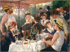 Gallery Print  Luncheon of the boating party - Pierre-Auguste Renoir