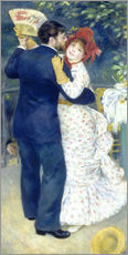 Wall sticker  Dance in the country - Pierre-Auguste Renoir