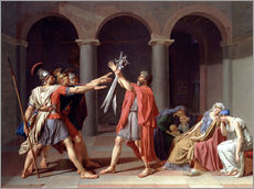 Gallery print  Oath of the Horatii - Jacques-Louis David