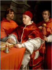 Gallery print  Leo X with cardinals - Raffael