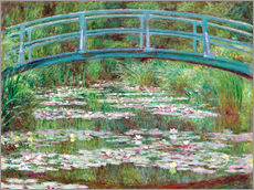 Wall sticker  Waterlily pond - Claude Monet