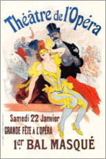 Premium poster 1st Masked Ball - Opera House (French)