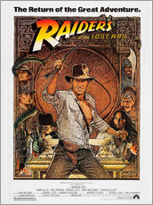 Gallery print  Indiana Jones - Raiders of the lost ark