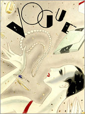 Gallery print  Vogue Cover um 1900 - Advertising Collection
