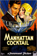 Gallery print  Manhattan Cocktail - Advertising Collection