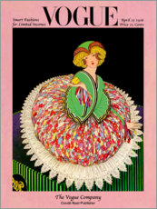 Wall sticker  Vogue Cover 1916 - Advertising Collection