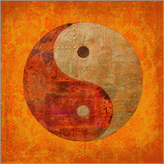 Wall sticker Yin and yang