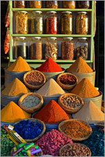 Gallery print  Spices from Morocco - HADYPHOTO