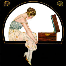 Gallery print  The Music of Women - Clarence Coles Phillips