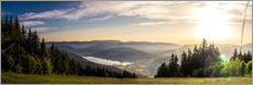 Gallery print  Sunset at Titisee - Siegfried Heinrich