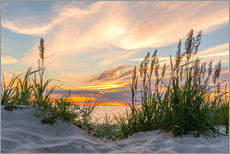 Gallery print  Beach of the Baltic Sea at Sunset - Markus Ulrich