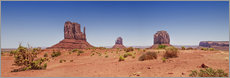 Gallery print  Monument Valley USA Panorama I - Melanie Viola