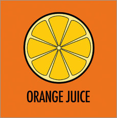 Wall sticker  Orange Juice - JASMIN!