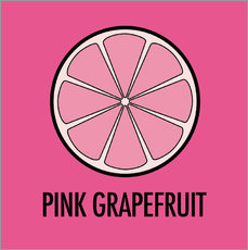 Wall Sticker  Pink Grapefruit Juice - JASMIN!