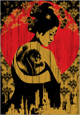 Gallery print  Geisha - dolceQ