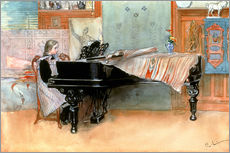 Wall sticker  The scale - Carl Larsson