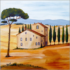 Wall sticker  Tuscany - Christine Huwer