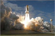 Wall sticker  Space shuttle Atlantis lifts off - Stocktrek Images
