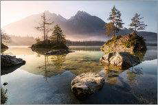 Wall sticker  Hintersee German Alps - Richard Grando