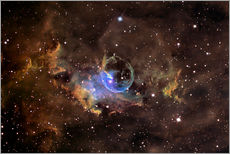 Gallery print  Bubble nebula - Ken Crawford