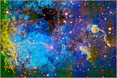 Wall sticker  The Tadpole Nebula - Ken Crawford