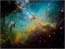 Wall sticker  The Eagle Nebula - Ken Crawford