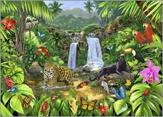 Wall sticker  Rainforest harmony - Chris Hiett