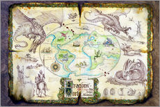Wall sticker  Dragons of the world - Dragon Chronicles