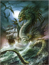 Wall sticker  The sea serpent - Dragon Chronicles