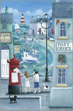 Gallery print  Harbour post - Peter Adderley