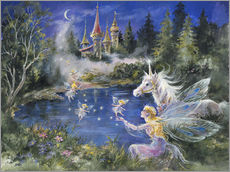 Mimi Jobe - Fairies visit the Unicorn