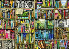 Gallery print  Bookshelf - Colin Thompson