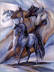Gallery print  Inspired by the five winds - Jody Bergsma