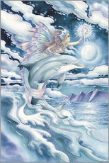 Wall sticker  Wish upon a dolphin star - Jody Bergsma