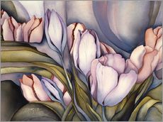 Wall Stickers  River of tulips - Jody Bergsma